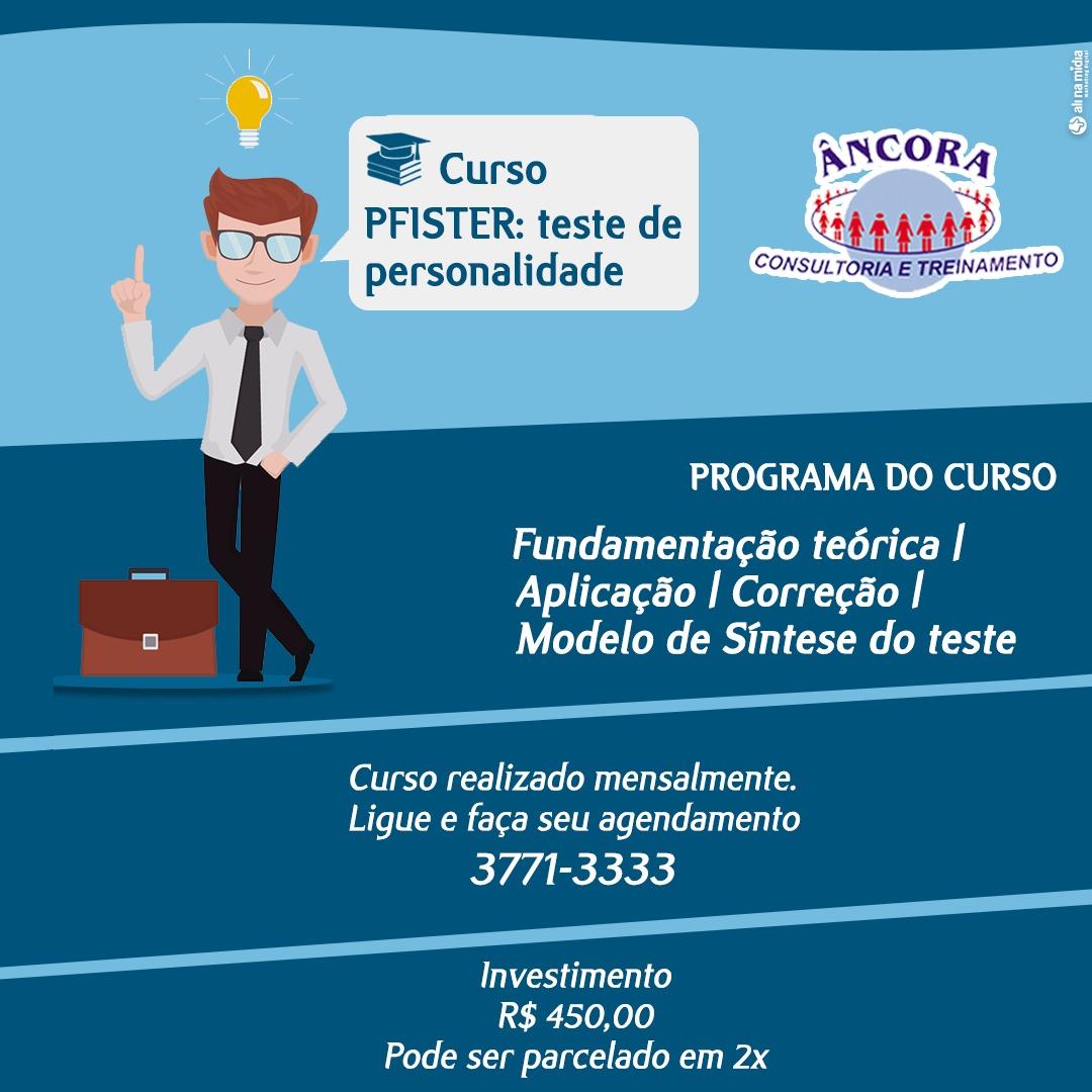 CURSO DE PFISTER -TESTE DE PERSONALIDADE