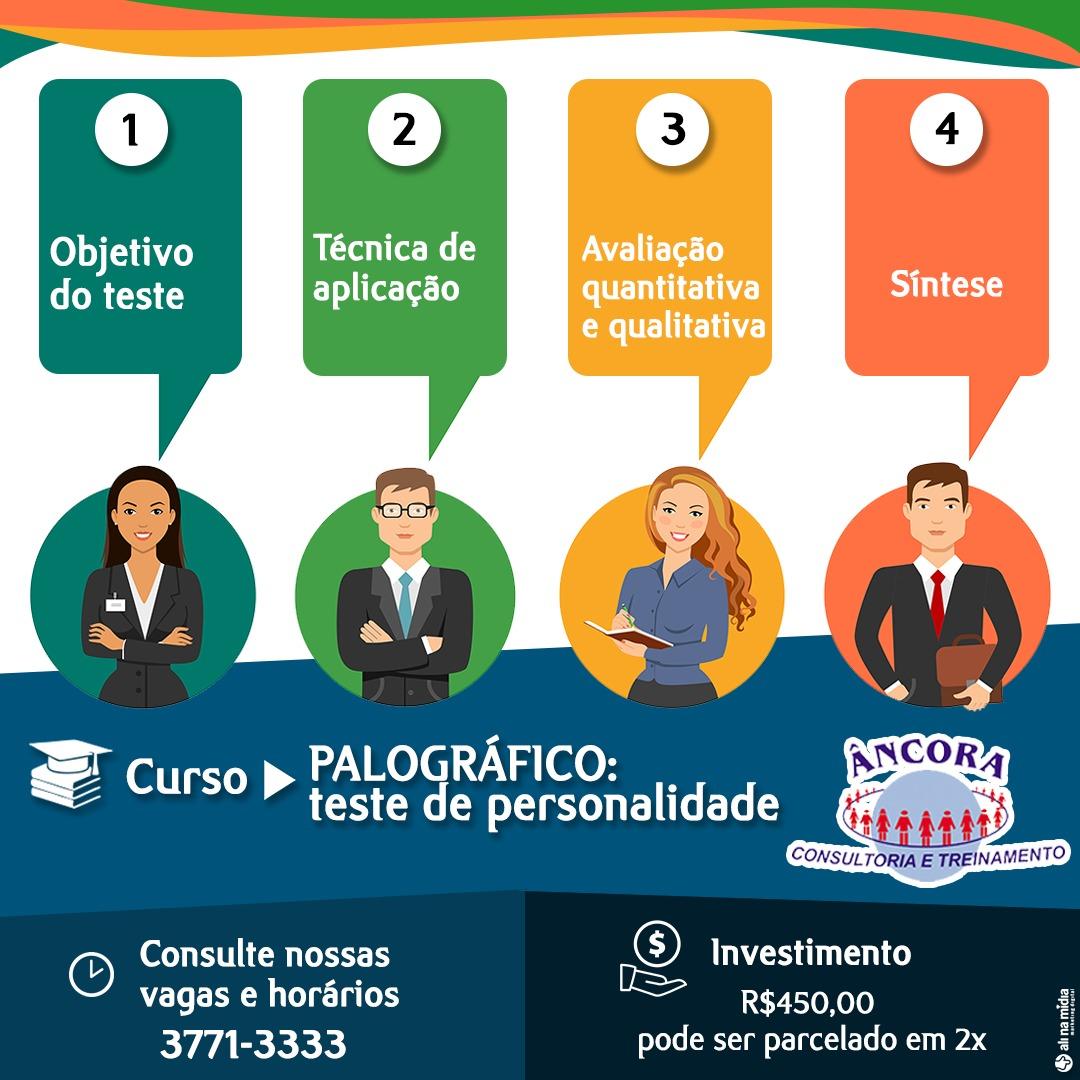 CURSO PALOGRÁFICO -  TESTE DE PERSONALIDADE